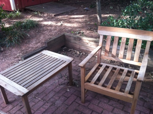 wood yard furniture plans
