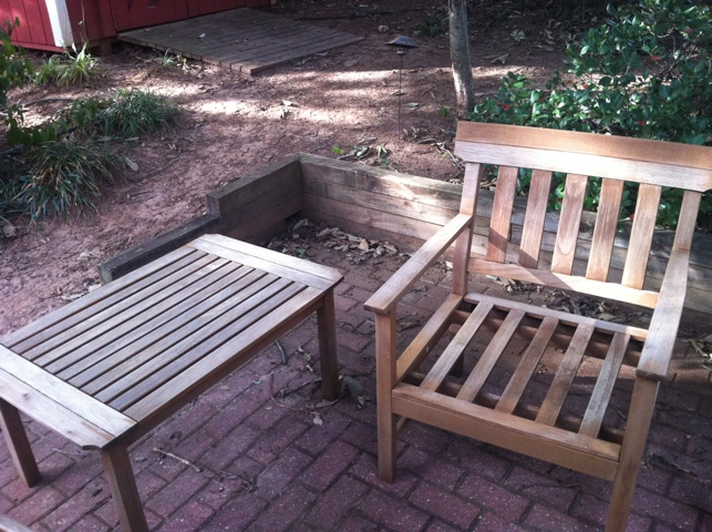 wood porch furniture plans
