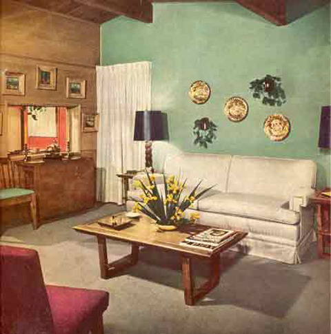 Vintage Style The 1940s The Yellow Cottage