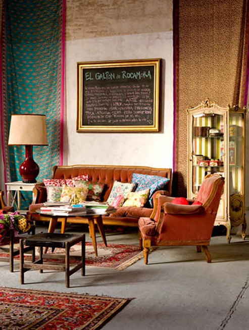 bohemian style part 1 the yellow cottage. Black Bedroom Furniture Sets. Home Design Ideas