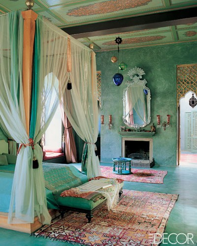 Moroccan Bedroom Decorating Ideas: The Yellow Cottage